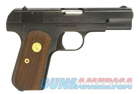 "Colt by US Armament 1903RB 1903 Hammerless 32 ACP 3.75"" 8+1 Royal Blue Walnut Grip  Guns > Pistols > C Misc Pistols"