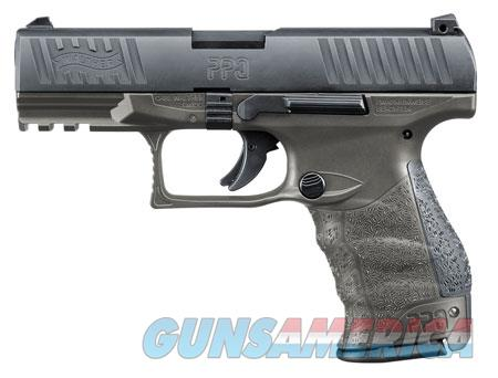 "Walther Arms 2823462 PPQ M2 9mm Luger Single/Double 4"" 15+1 Black Interchangeable Backstrap Grip  Guns > Pistols > W Misc Pistols"