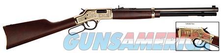 "Henry H006OM Big Boy American Oilman Tribute  Lever 44 Remington Magnum 20"" 10+1 American Walnut Stk  Guns > Rifles > Henry Rifles - Replica"