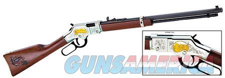 "Henry H004AF Golden Boy American Farmer Tribute Lever 22 Short/Long/Long Rifle 20"" 16 LR/21 Short  Guns > Rifles > Henry Rifles - Replica"