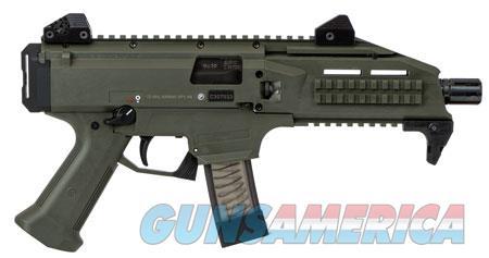 """CZ 91355 Scorpion EVO 3 S1 Pistol AR Pistol Semi-Automatic 9mm Luger 7.72"""" 20+1  OD Green  Guns > Rifles > C Misc Rifles"""