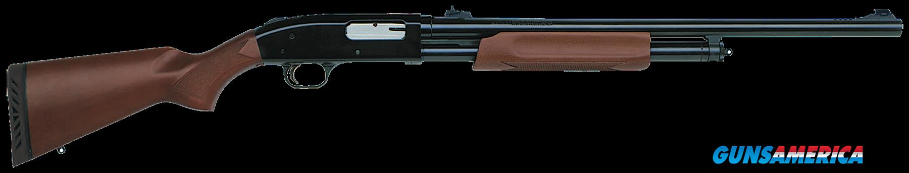 "Mossberg 54244 500 Pump 12 ga 24"" 3"" Wood Stk Blued  Guns > Shotguns > MN Misc Shotguns"