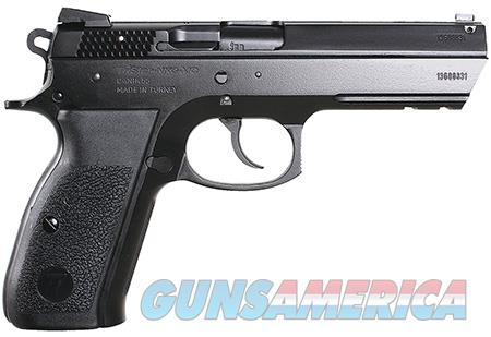 "TriStar 85109 T-100 Aluminum 9mm Luger 3.70"" 15+1 Black Cerakote Black Cerakote Black Polymer Grip  Guns > Pistols > Tristar"
