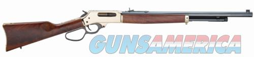 Henry Repeating Arms LEVER ACTION 45-70 BRASS 22 LG LOOP LEVER|BRASS RECEIVER  Guns > Rifles > H Misc Rifles