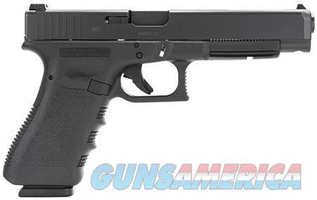 "Glock PI3530101 G35 Standard 40 S&W Double 5.31"" 10+1 Black Polymer Grip/Frame Grip Black Slide  Guns > Pistols > Glock Pistols > 35"