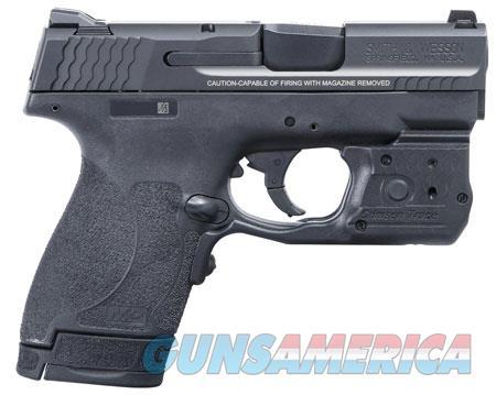 "Smith & Wesson 11817 M&P 40 Shield M2.0 Laserguard Pro 40 S&W Double 3.1"" 6+1/7+1 Black Polymer  Guns > Pistols > Smith & Wesson Pistols - Autos > Shield"