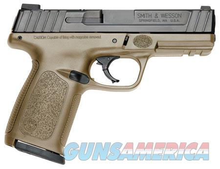 "Smith & Wesson 11999 SD 40 40 S&W Double 4"" 14+1 Flat Dark Earth Polymer Grip/Frame Black Armornite  Guns > Pistols > S Misc Pistols"