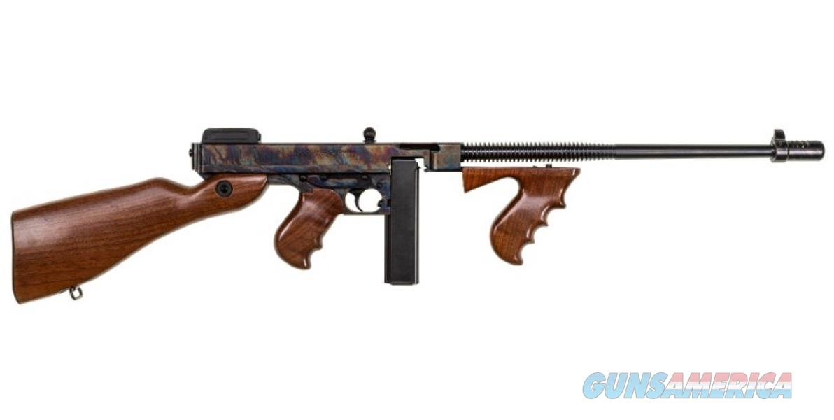 "Thompson T1CH 1927-A1 Deluxe Semi-Automatic 45 Automatic Colt Pistol (ACP) 18"" 20+1 American Walnut  Guns > Rifles > K Misc Rifles"