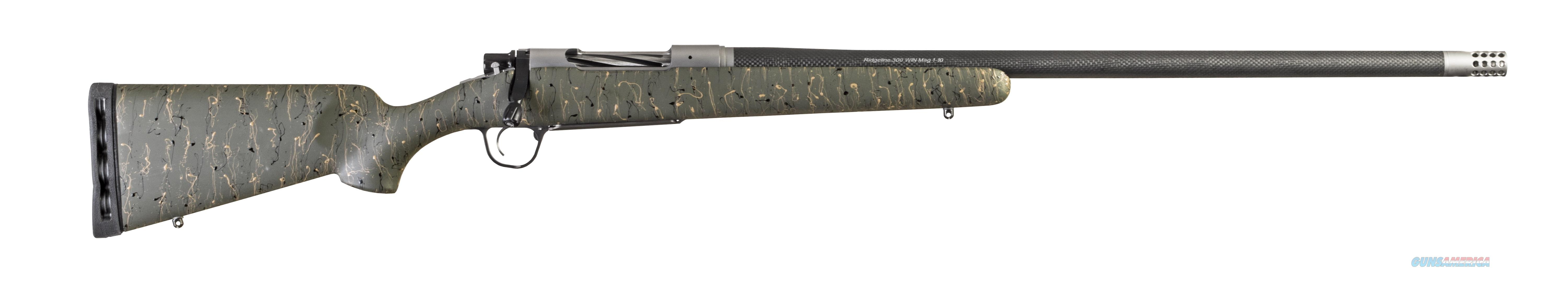 Christensen Arms RIDGELINE 308WIN GRN/BLK 24 CA10299-414413  Guns > Rifles > C Misc Rifles