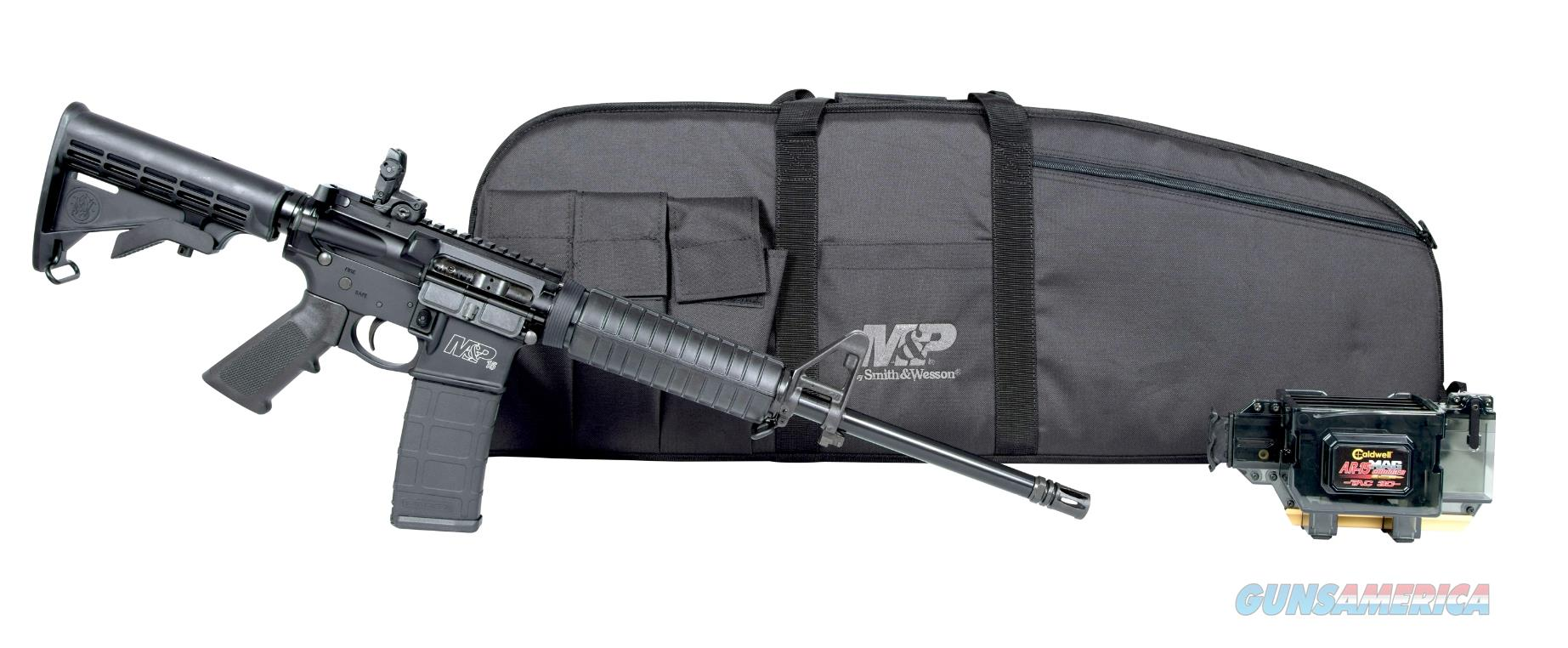 "Smith & Wesson 12095 M&P 15 Sport II Promo Kit Sport II Semi-Automatic 223 Remington/5.56 NATO 16""  Guns > Rifles > Smith & Wesson Rifles > M&P"