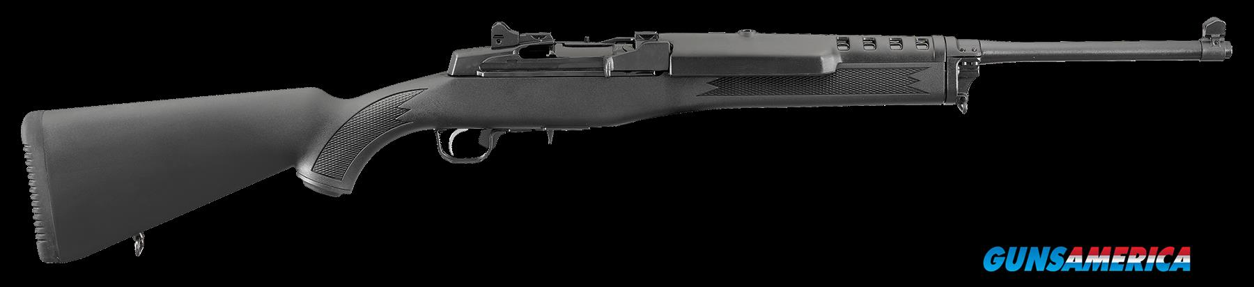 "Ruger 5855 Mini-14 Ranch Semi-Automatic 223 Remington/5.56 NATO 18.5"" 5+1 Synthetic Black Stk Blued  Guns > Rifles > R Misc Rifles"