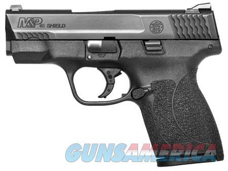 "Smith & Wesson 11705 M&P 45 Shield M2.0 *MA Compliant* 45 ACP Double 3.3"" 6+1/7+1 Black Polymer  Guns > Pistols > Smith & Wesson Pistols - Autos > Shield"