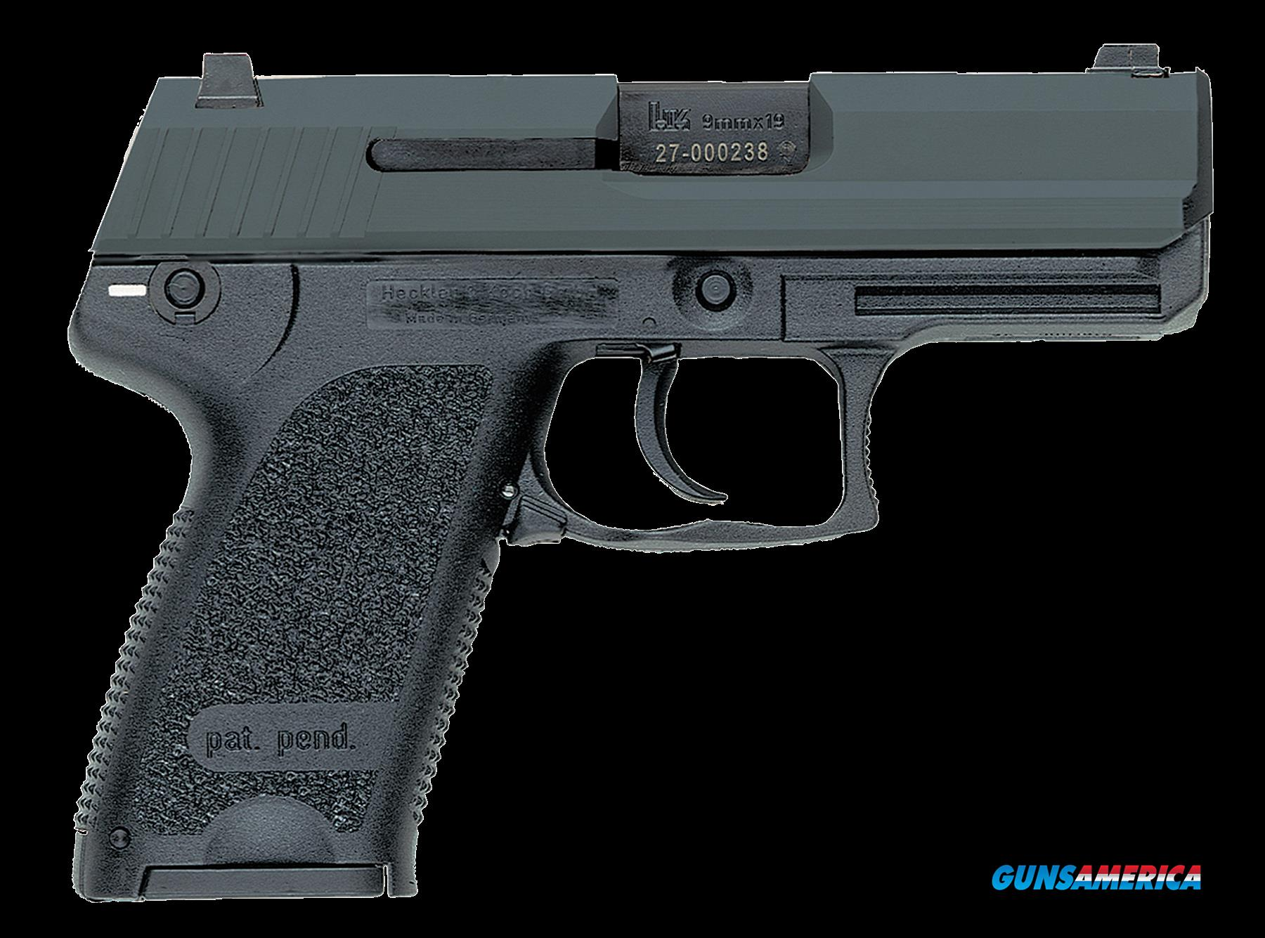 "HK 709037A5 USP9 Compact 9mm LEM 3.58"" 10+1 Polymer Grip Black Finish  Guns > Pistols > H Misc Pistols"