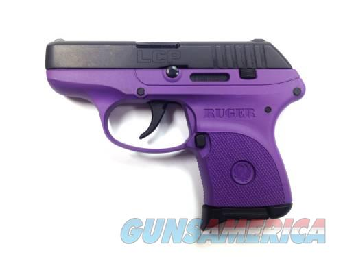 Ruger LCP 380ACP BL/PURPLE POLY 6+1 3725  Guns > Pistols > Ruger Semi-Auto Pistols > LCP