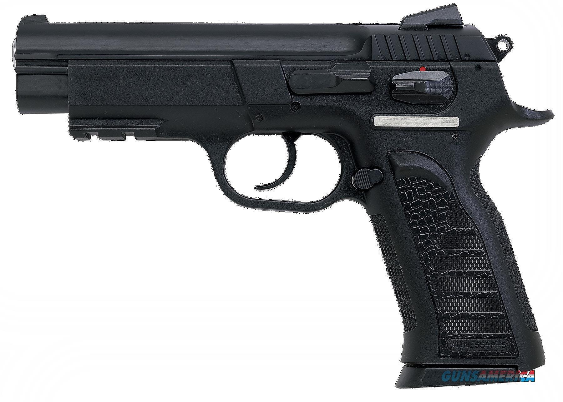 "EAA 999103 Witness Polymer Full Size 40 S&W 4.5"" 14+1 Poly Grip/Frame Blk  Guns > Pistols > EAA Pistols > Other"