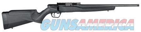 "Savage 70203 B22 FVSR Bolt 22 LR 16.25"" 10+1 Black Fixed Synthetic Stock Black Carbon Steel Receiver  Guns > Rifles > S Misc Rifles"