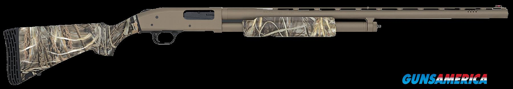 "Mossberg 50124 500 FLEX Hunting Pump 12 ga 28"" 3"" Max-4 Syn Stk Tan  Guns > Shotguns > Mossberg Shotguns > Pump > Sporting"