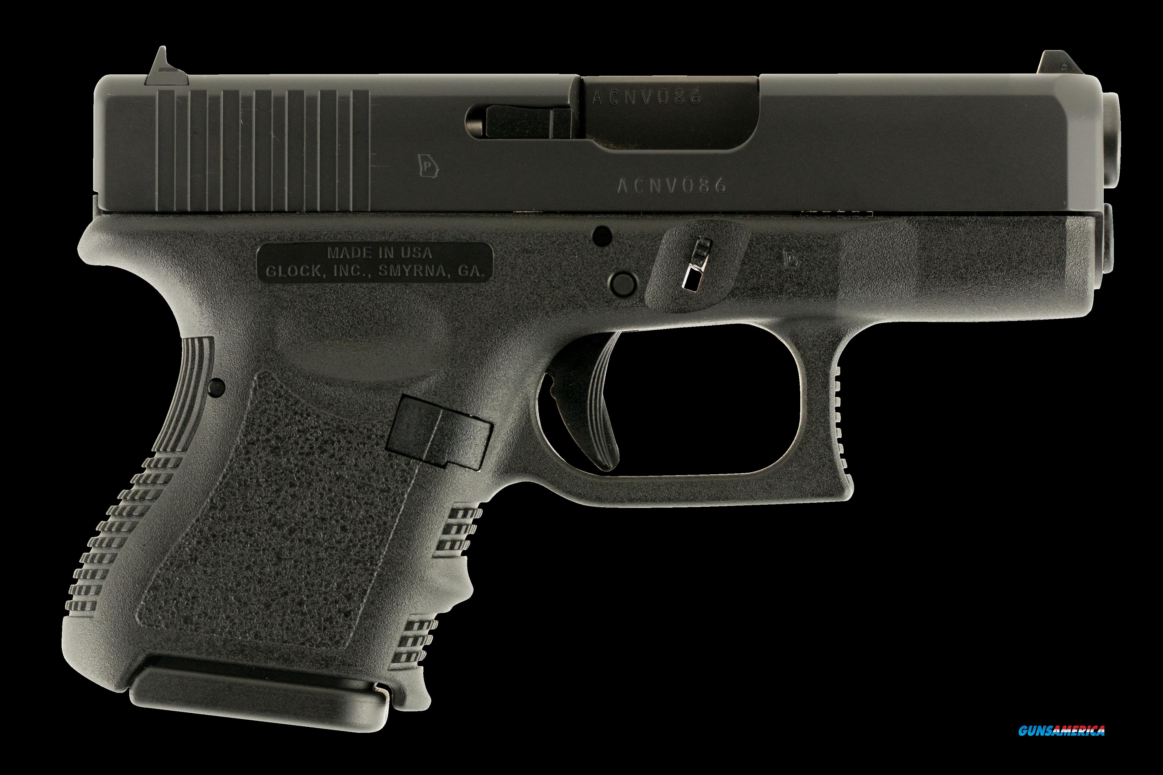 "Glock UI2750201 G27 Subcompact Double 40 Smith & Wesson (S&W) 3.42"" 9+1 Black Polymer Grip/Frame  Guns > Pistols > G Misc Pistols"