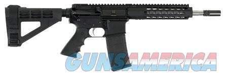 """Bushmaster 90035 Square Drop Pistol 223 Rem,5.56 NATO 10"""" 30+1 Black Hard Coat Anodized Black Hogue  Guns > Rifles > B Misc Rifles"""