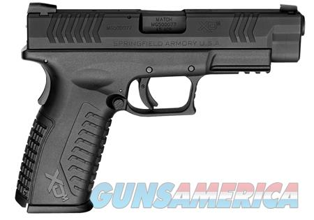 "Springfield Armory XDM94545BE XD(M) Full Size  45 Automatic Colt Pistol (ACP) Double 4.5"" 10+1 Black  Guns > Pistols > Springfield Armory Pistols > XD-M"