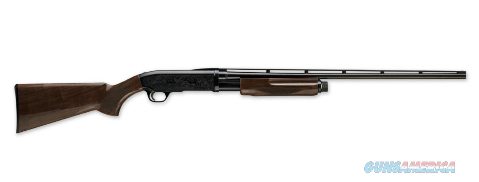 Browning BPS MEDALLION 12/28 BL/WD 3 INVECTOR+ CHOKE TUBES  Guns > Shotguns > Browning Shotguns > Pump Action
