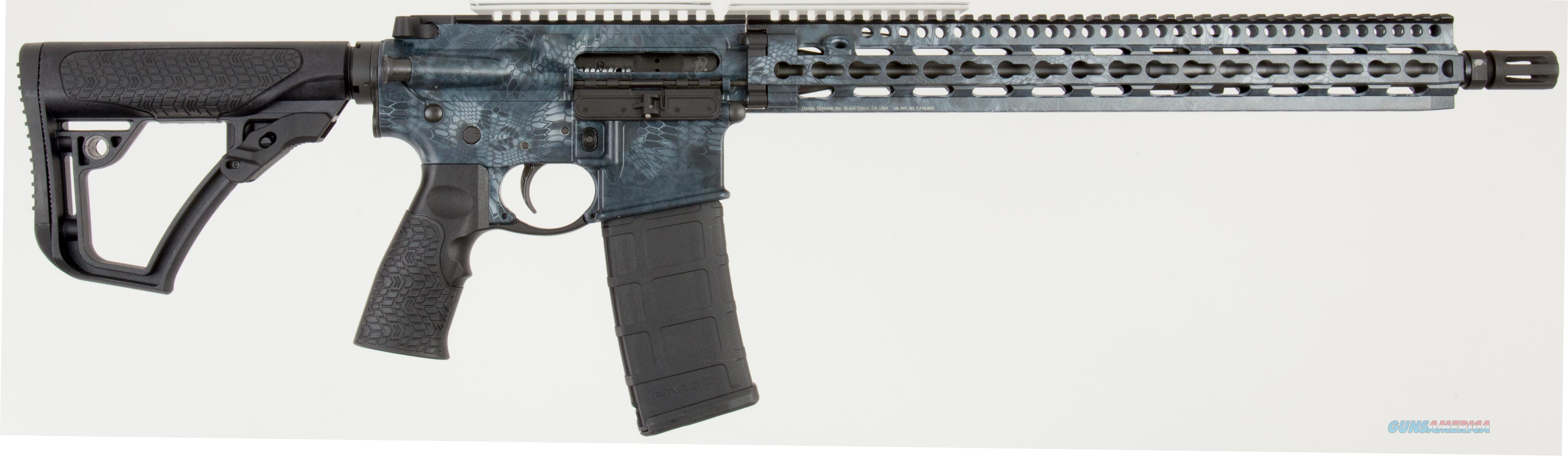 "Daniel Defense 05148047 DDM4 V11 Semi-Automatic 223 Remington/5.56 NATO 16"" 30+1 6-Position Black  Guns > Rifles > Daniel Defense > Complete Rifles"