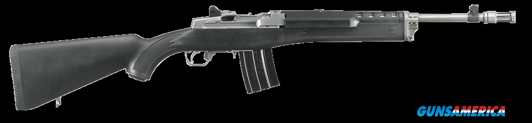 "Ruger 5819 Mini-14 Tactical Semi-Automatic 223 Remington/5.56 NATO 16.1"" 20+1 Synthetic Black Stk  Guns > Rifles > R Misc Rifles"
