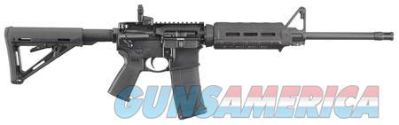 """Ruger 8515 AR-556   223 Rem,5.56 NATO 16.10"""" 30+1 Black Hardcoat Anodized Adjustable Magpul MOE  Guns > Rifles > R Misc Rifles"""