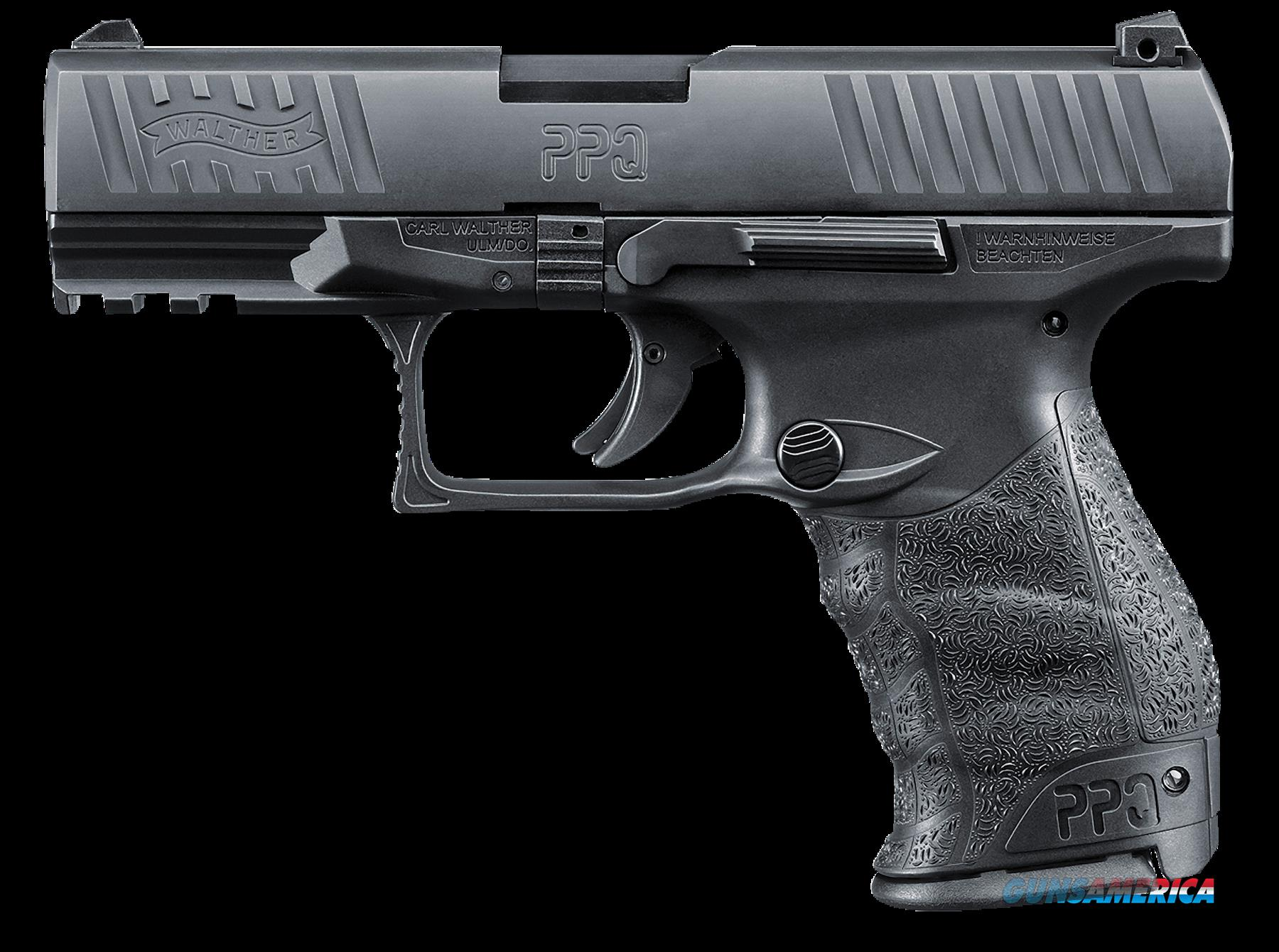 "Walther Arms 2796074 PPQ M2 Double 40 Smith & Wesson (S&W) 4.2"" 11+1 Black Polymer Grip/Frame Grip  Guns > Pistols > W Misc Pistols"