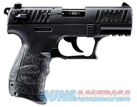 """Walther 5120333 P22CA *CA* 22LR 3.42"""" 10+1 Poly Frame Black  Guns > Pistols > Walther Pistols > Post WWII > P22"""