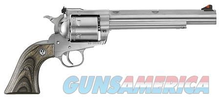 "Ruger 0860 Super BlackHawk Hunter 44 Rem Mag 7.50"" 6 Round Black Laminate Wood Grip Stainless Steel  Guns > Pistols > Ruger Single Action Revolvers > Blackhawk Type"