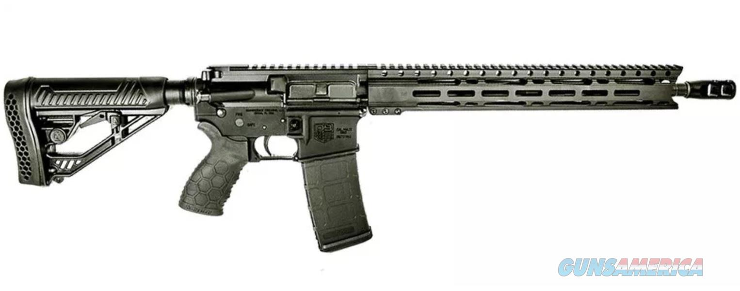 Diamondback Firearms DB15 5.56 BLK 30+1 16 M-LOK 15 KEYMOD RAIL  Guns > Rifles > Diamondback Rifles