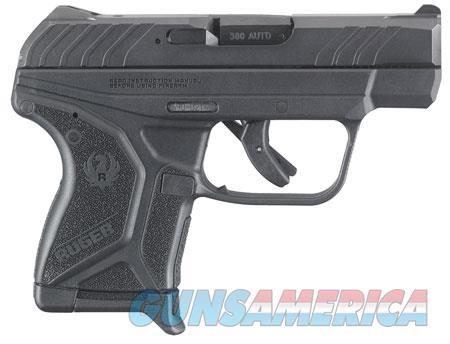 "Ruger 3750 LCP II   380 ACP SAO 2.75"" 6+1 Black Polymer Grip Blued Slide  Guns > Pistols > R Misc Pistols"