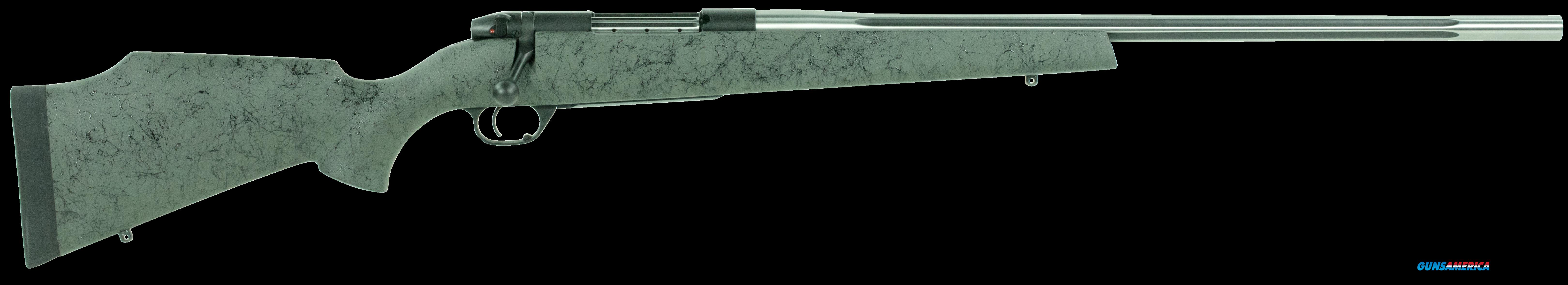 "Weatherby MAMS65CMR4O Mark V Accumark Bolt 6.5 Creedmoor 24"" 4+1  Stk Fluted Stainless Steel  Guns > Rifles > W Misc Rifles"