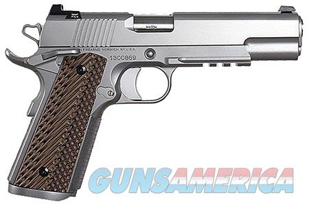 "Dan Wesson 01993 Specialist   45 ACP Single/Double 5"" 8+1 Brown VZ Operator II G10 Grip Stainless  Guns > Pistols > D Misc Pistols"