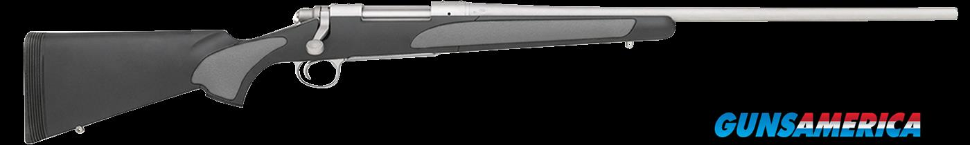 "Remington Firearms 27255 700 SPS Stainless Bolt 300 WSM 24"" 3+1 Synthetic Black Stk Stainless Steel  Guns > Rifles > Remington Rifles - Modern > Model 700 > Sporting"