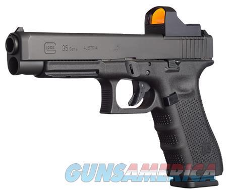 "Glock UG3530101MOS G35 Gen 4 Competition MOS 40 S&W Double 5.31"" 10+1 Black Interchangeable  Guns > Pistols > Glock Pistols > 35"
