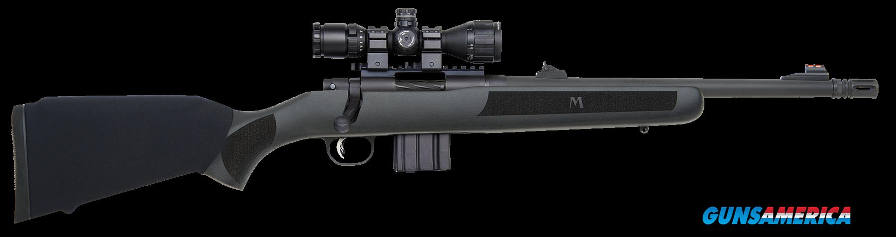 "Mossberg 27756 MVP Patrol with Scope Bolt 223 Rem/5.56 NATO 16.25"" 10+1 Synthetic Black Stk Blued  Guns > Rifles > MN Misc Rifles"