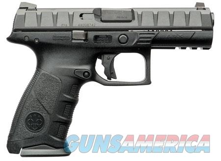 "Beretta USA JAXF920 APX Full Size Double 9mm Luger 4.25"" 10+1 Black Interchangeable Backstrap Grip  Guns > Pistols > B Misc Pistols"
