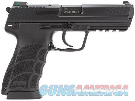 """HK 745001LEA5 HK45 *MA Compliant 45 ACP 4.46"""" 10+1 Black Interchangeable Backstrap Grip  Guns > Pistols > Heckler & Koch Pistols > Polymer Frame"""