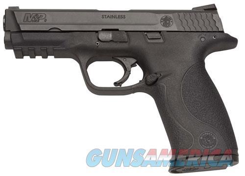 "Smith & Wesson 109201 M&P 9  9mm Luger Double 4.25"" 10+1 Black Interchangeable Backstrap Black  Guns > Pistols > Smith & Wesson Pistols - Autos > Polymer Frame"