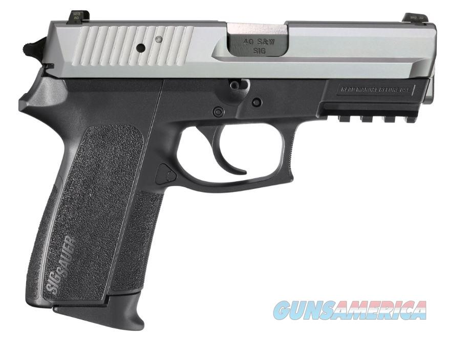 SIG SAUER SP2022 40SW 2-TONE SLITE 12+1 E2022-40-TSS|SS SLIDE|2 MAGS  Guns > Pistols > Sig - Sauer/Sigarms Pistols > 2022