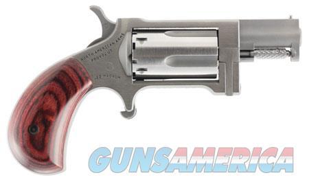 "NAA SW Sidewinder  Single 22 Mag 1.50"" 5 Rd Rosewood Bird's Head Grip  Guns > Pistols > North American Arms Pistols"