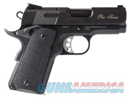 """Smith & Wesson 178053 1911 Performance Center Pro  9mm Luger Single 3"""" 8+1 Black Synthetic Grip  Guns > Pistols > Smith & Wesson Pistols - Autos > Steel Frame"""