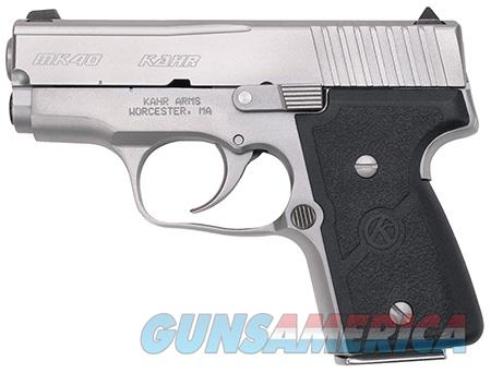 "Kahr Arms M4043 MK40 Standard 40 S&W Double 3"" 5+1/6+1 Black Wraparound Nylon Grip Stainless Steel  Guns > Pistols > Kahr Pistols"