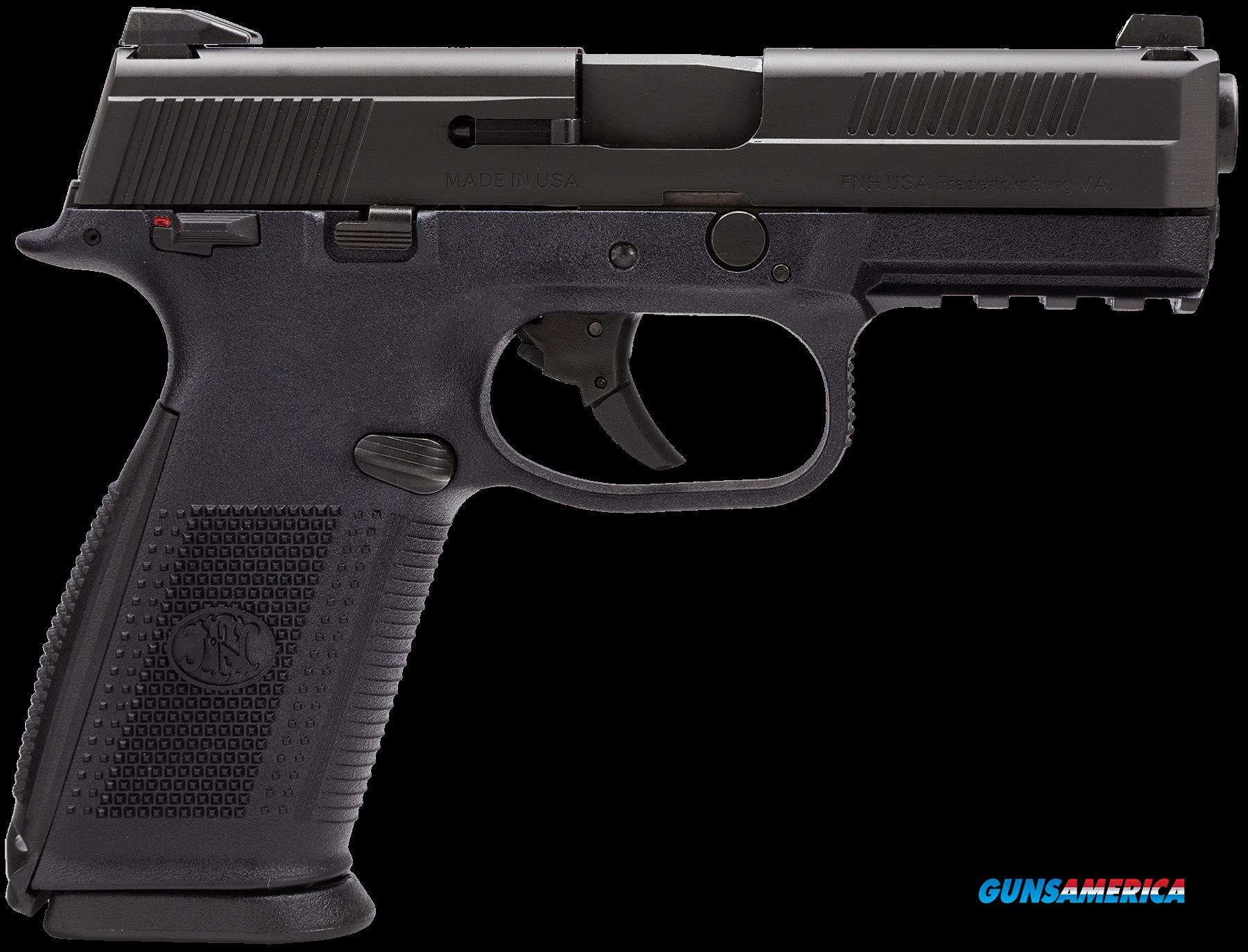 "FN 66944 FNS40 Manual Safety Fxd 3 Dot 40S&W 4"" 10+1 3 Mags Poly Grips Blk  Guns > Pistols > F Misc Pistols"