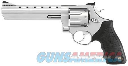"Taurus 2608069 608 Standard Single/Double 357 Magnum 6.5"" 8 rd Black Rubber Grip Stainless  Guns > Pistols > Taurus Pistols > Revolvers"