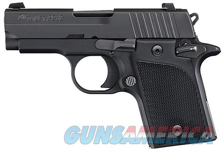 "Sig Sauer 9389BSSAMBI P938 Micro-Compact 9mm Luger Single 3"" 6+1 NS Black Polymer Grip Black Nitron  Guns > Rifles > Sig - Sauer/Sigarms Rifles"