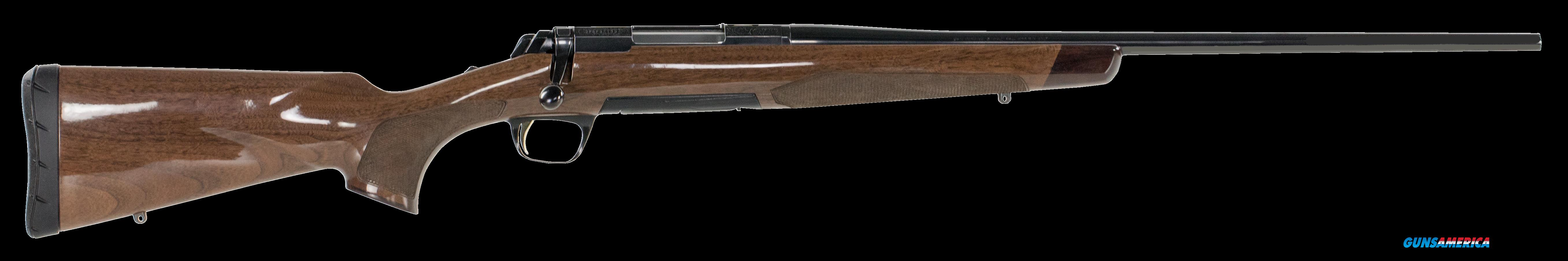 "Browning 035200246 X-Bolt Medallion Bolt 300 Winchester Short Magnum 23"" 3+1 Walnut Stock Blued  Guns > Rifles > B Misc Rifles"