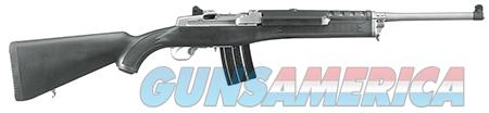 """Ruger 5817 Mini-14 Ranch Semi-Automatic 223 Rem/5.56 NATO 18.50"""" 20+1 Fixed Stock Stainless Steel  Guns > Rifles > Ruger Rifles > Mini-14 Type"""